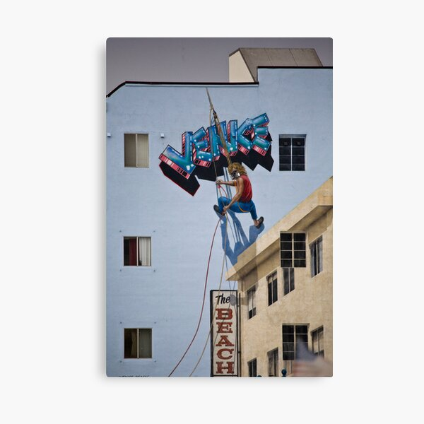 Hanging in Venice Beach Canvas Print