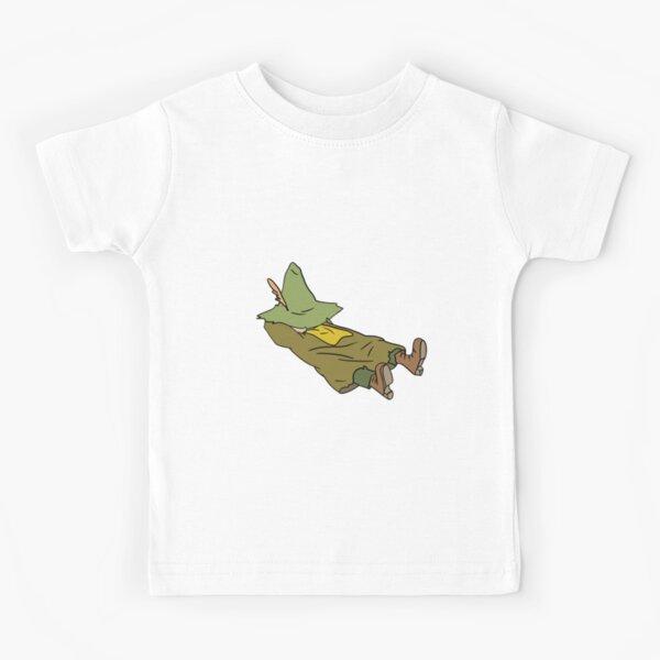 Sleepy Snufkin (no z's) Kids T-Shirt