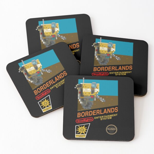 8-Bit NES Borderlands Coasters (Set of 4)