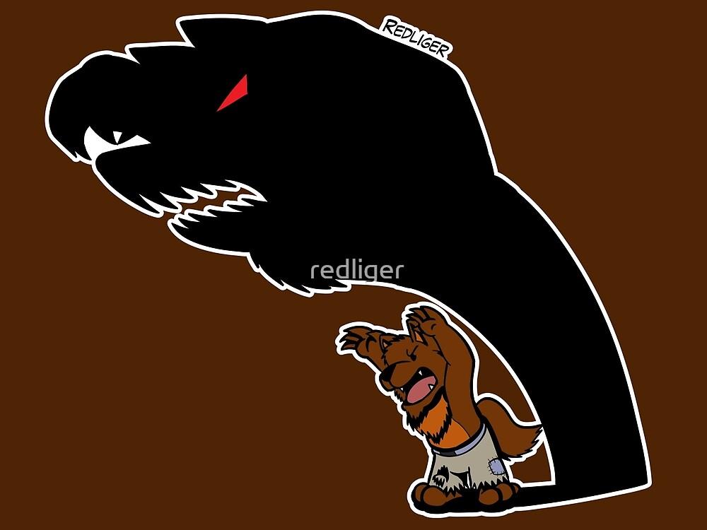 Halloween Monster Delight - Werewolf by redliger