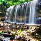 Cascade Falls by Angela King-Jones