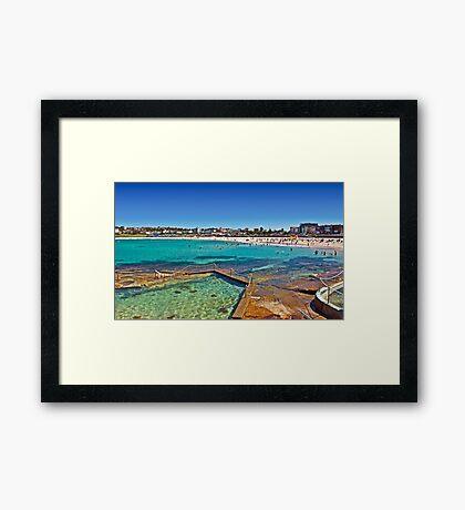 Beautiful Bondi Framed Print