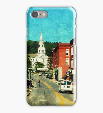 Middlebury, Vermont iPhone Case/Skin