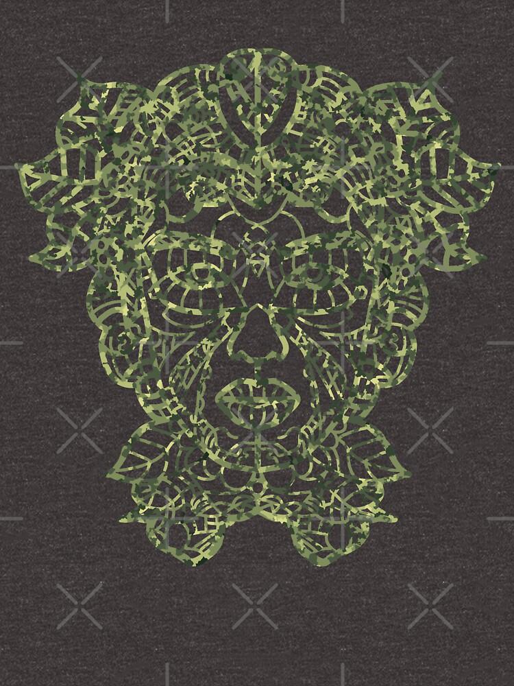 Mother Earth Camo Green by ninjainatux