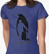 Cobblepot Womens Fitted T-Shirt