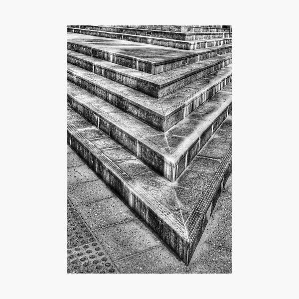 Five Steps Photographic Print