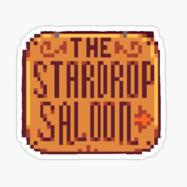 Sternentropfensaal im Stardew Valley Sticker