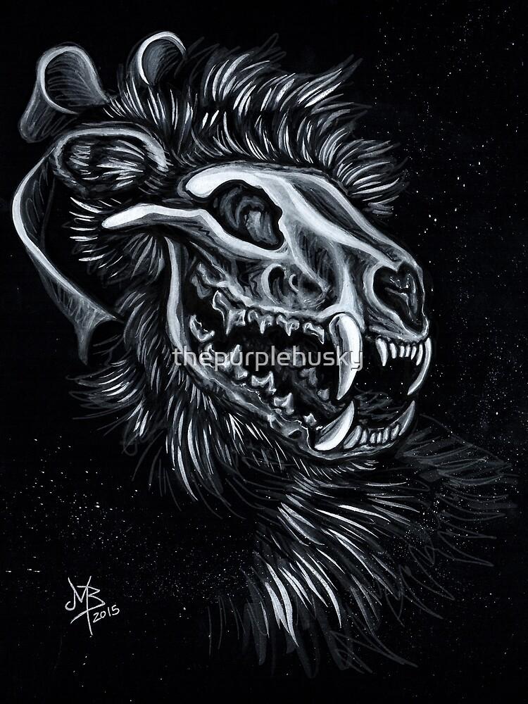 Fisher Cat Spook by thepurplehusky