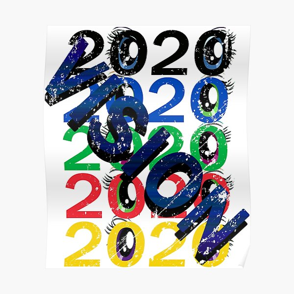 2020 VISION BOLD Poster