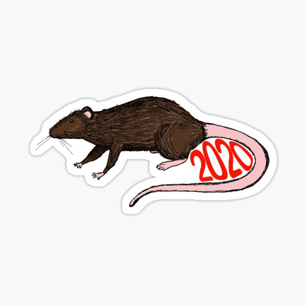 Year of the Rat Sticker