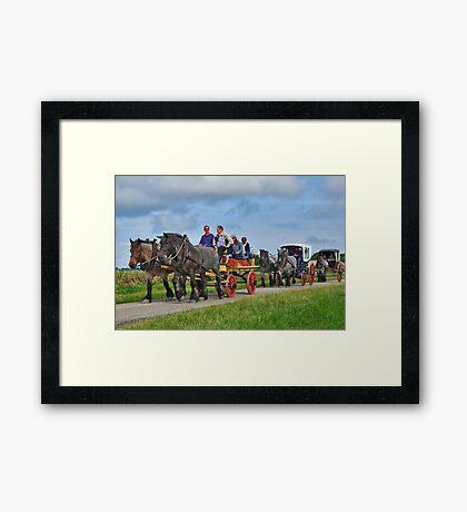 Farmlands Ride Framed Print