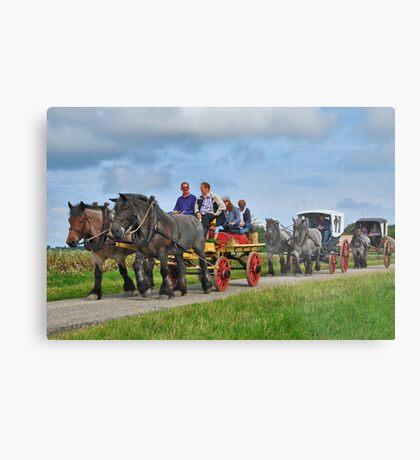 Farmlands Ride Metal Print