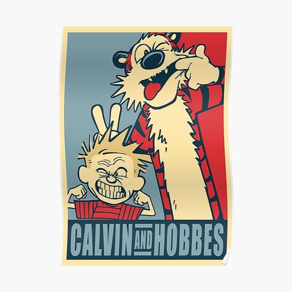 Calvin et Hobbes Poster