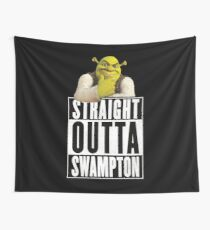 Shrek - Straight Outta Swampton Tapestry