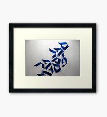 Sofer - Sefer 02 Framed Print