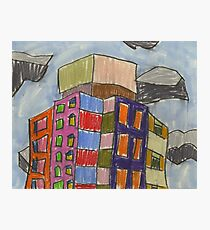 City XXXIV (2013) (Redfern) - drawing by artcollect Photographic Print