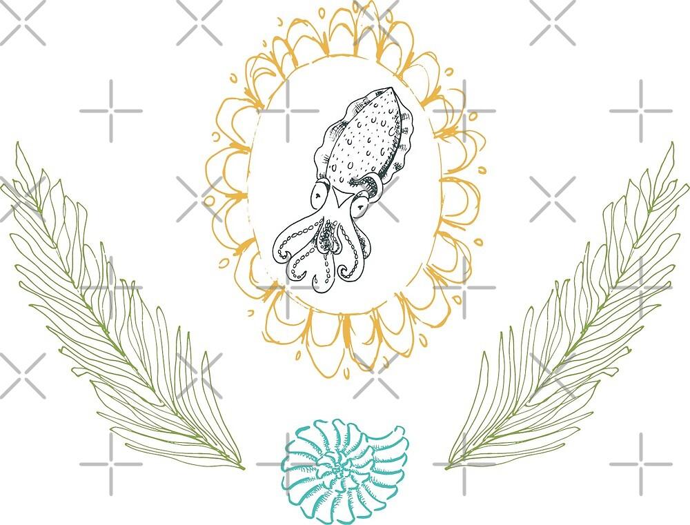 Team Cuddle Fish Emblem by KatyLuxionArt