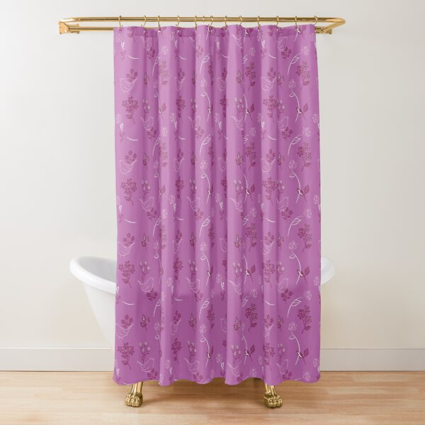 Roses and Wrens by Tea with Xanthe Shower Curtain