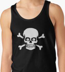 Jolly Roger Pirate Skull and Crossbones Tank Top