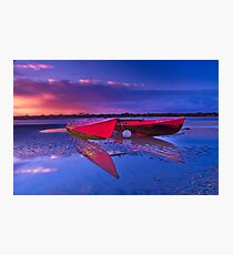 """Dawn over the Riverflats"" Photographic Print"