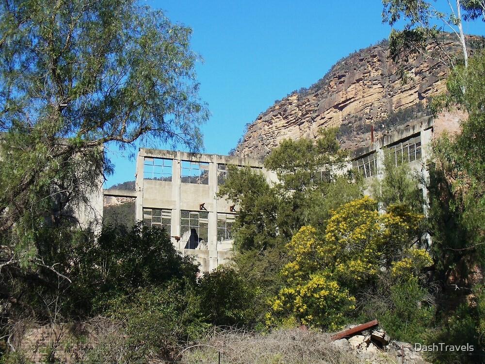 Glen Davis Ruins, NSW by DashTravels
