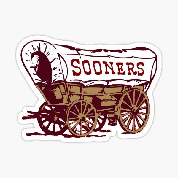Oklahoma Sooners Wagon Sticker