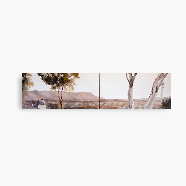 From Anzac Hill II (Diptych) Metal Print