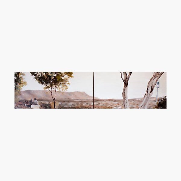 From Anzac Hill II (Diptych) Photographic Print