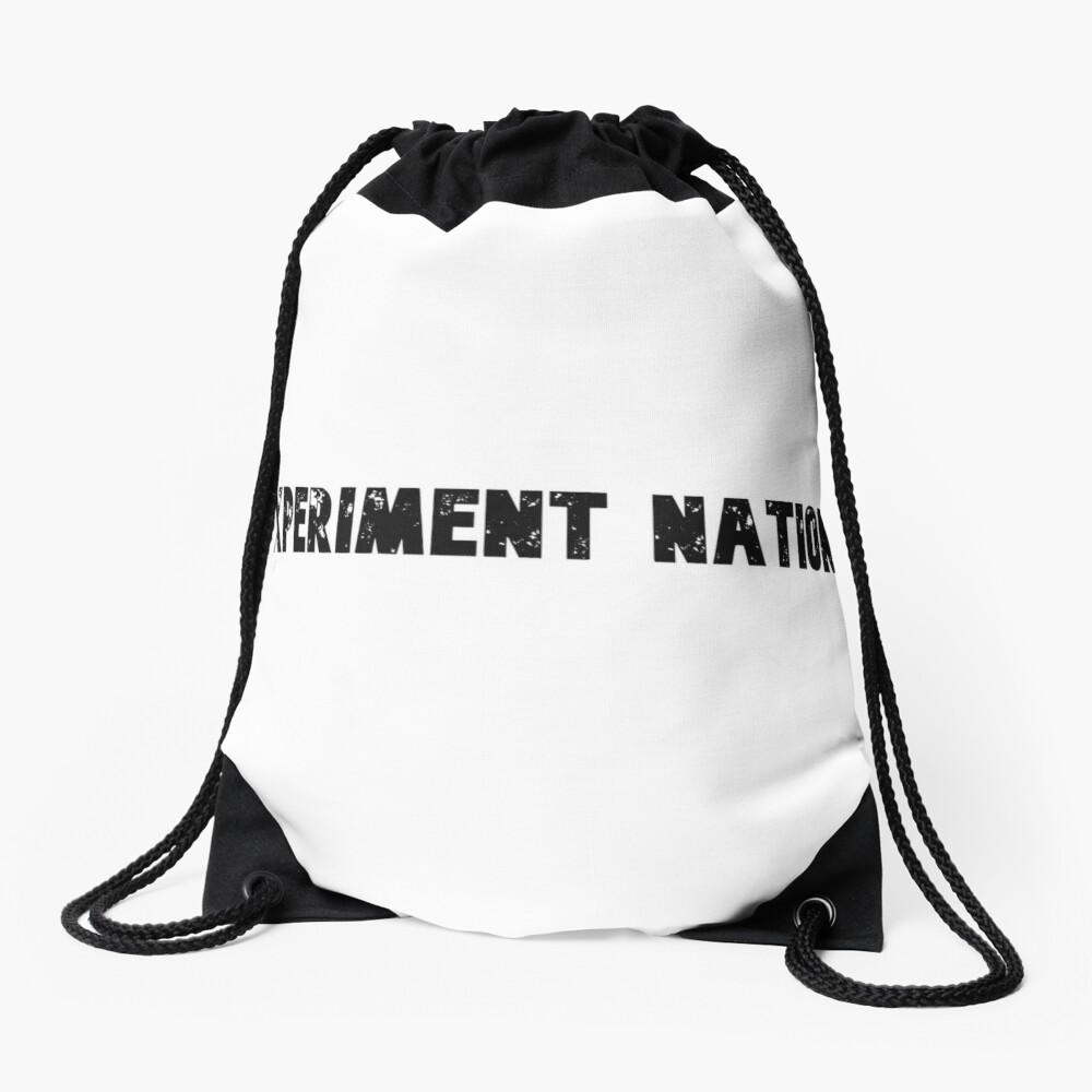 Experiment Nation Drawstring Bag