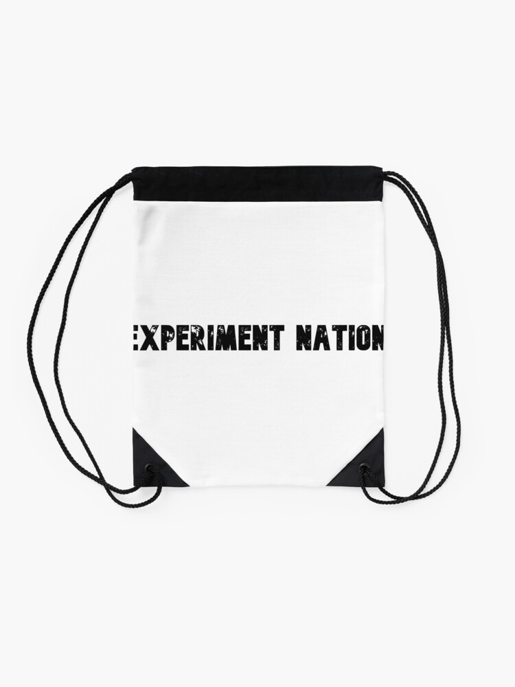 Alternate view of Experiment Nation Drawstring Bag