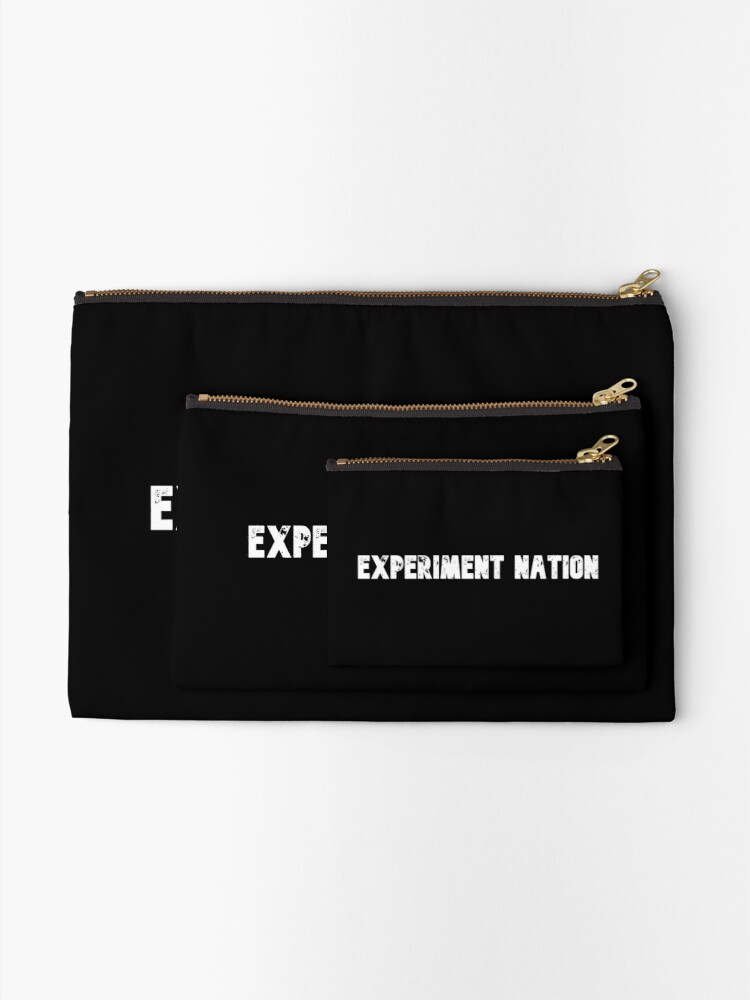 Alternate view of Experiment Nation Zipper Pouch