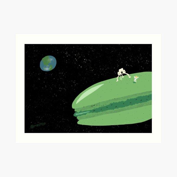 Macaron Moon Art Print