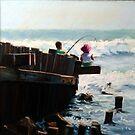Fishing with my big brother by Trevor Osborne