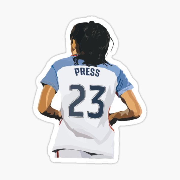 Christen Press 23 Sticker