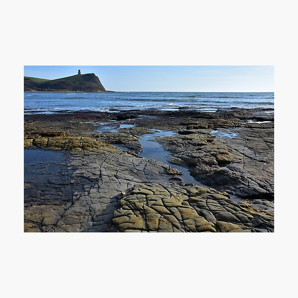 Dorset Sea and Rockpools photo Photographic Print