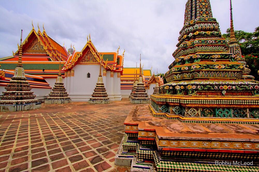 Wat Pho - Thailand by Bobby McLeod