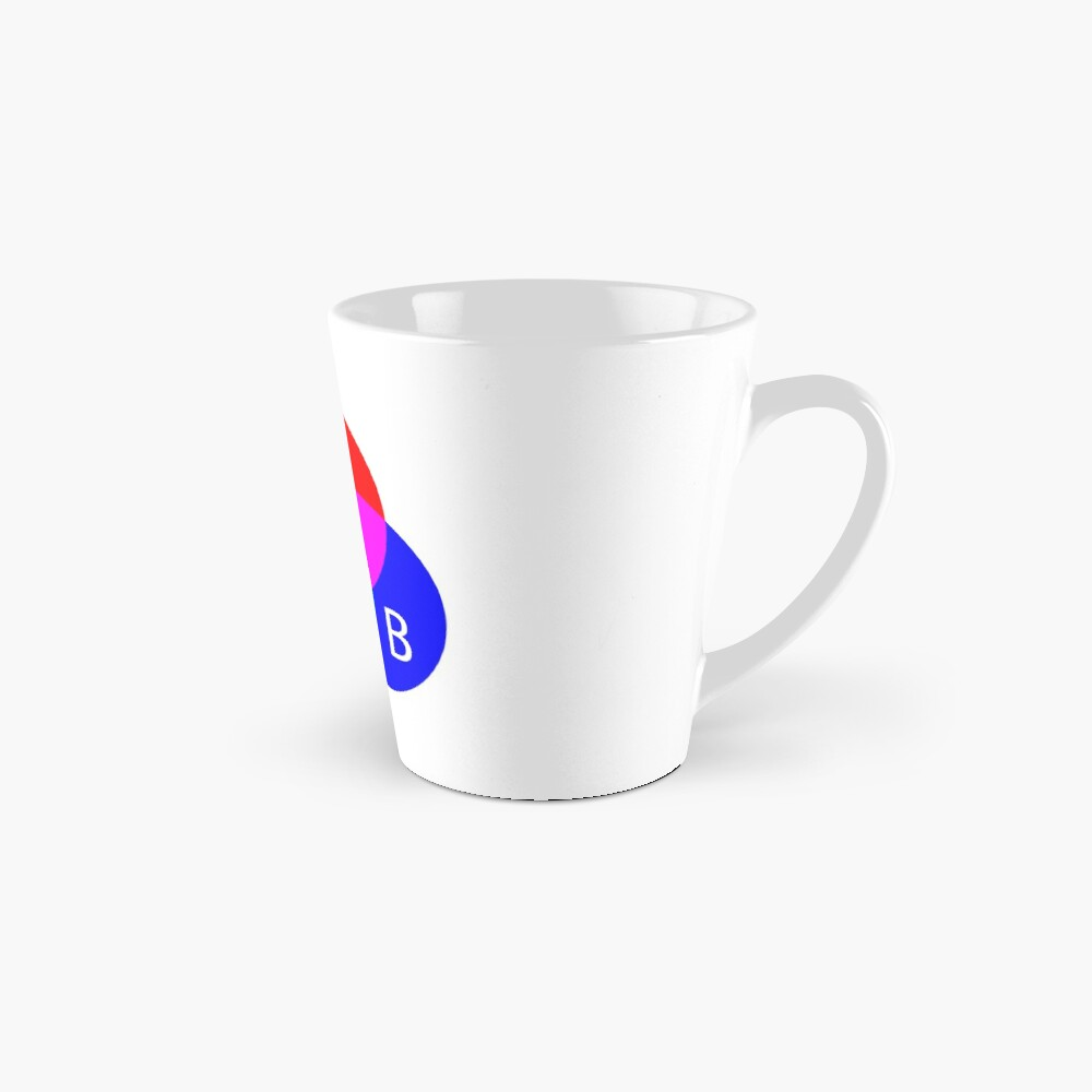 Primary RGB Colors: Red, Green, Blue - and their Mixing Mug