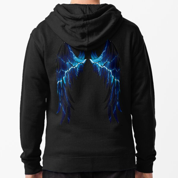 Thunder wings Zipped Hoodie