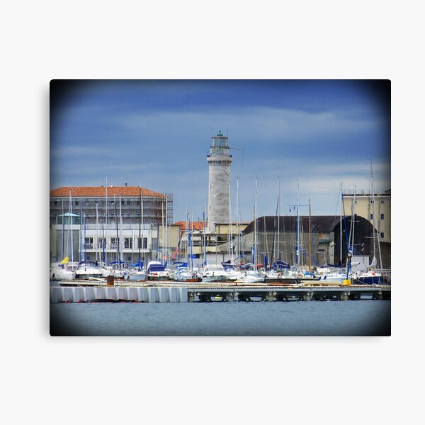 Lighthouse of Trieste Canvas Print