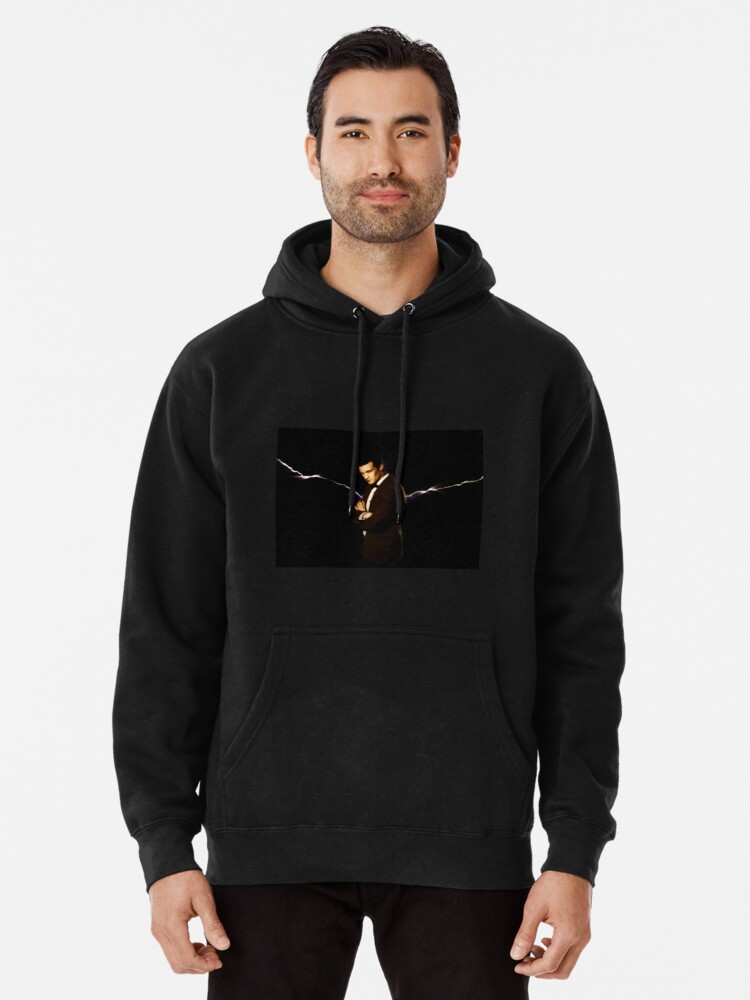 Alternate view of Silence Will Fall Pullover Hoodie