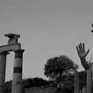 at Ephesus, a thriving city B.C. by geof