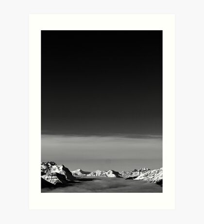 Lake Louise Inversion Art Print