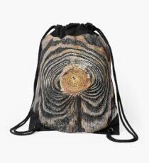 Wood knot Drawstring Bag