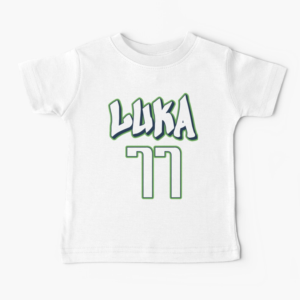 Luka Doncic 77 City Jersey Baby T-Shirt