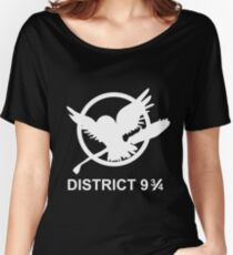 District 9 3/4 Women's Relaxed Fit T-Shirt