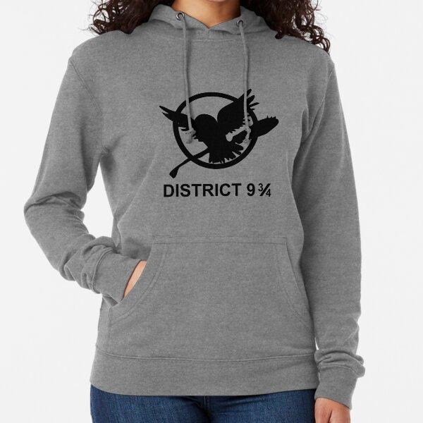 District 9 3/4 Lightweight Hoodie