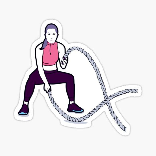 Battle Ropes Sticker