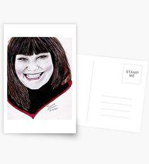 Dawn French - Vicar of Dibley Postcards