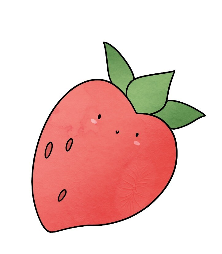 Just a Strawberry by brynner
