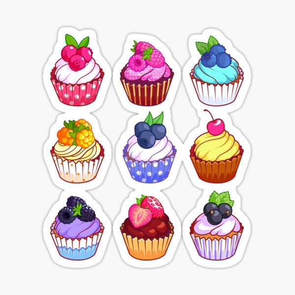 let them eat cupcakes  Sticker